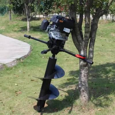 销售鸭脖app手机客户端下载四冲程打孔机 植树造林打窝机 汽油8马力挖坑机