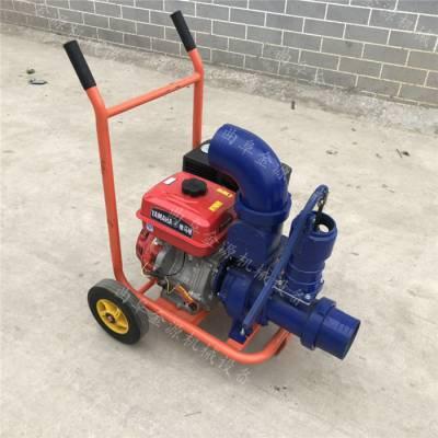 3寸汽油机自吸水泵农用灌溉园林绿化用大流量汽油抽水泵