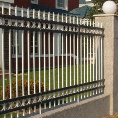 居民小区安全防护栏 事业单位锌钢护栏 喷塑安全隔离栏