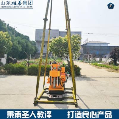 国勘液压地质勘探百米钻机 200米全液压岩芯钻机