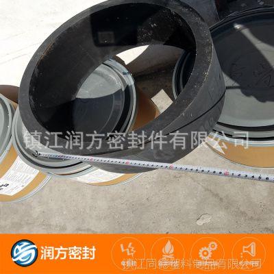 (大规格碳纤四氟模压管)聚四氟乙烯,不含铜粉,更耐腐蚀,耐磨损