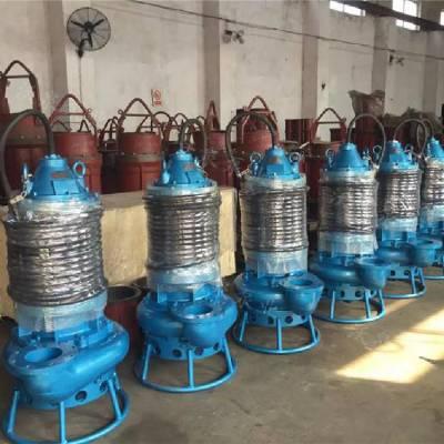 耐磨潜水渣浆泵 抽沙泵 搅拌吸沙排沙泵