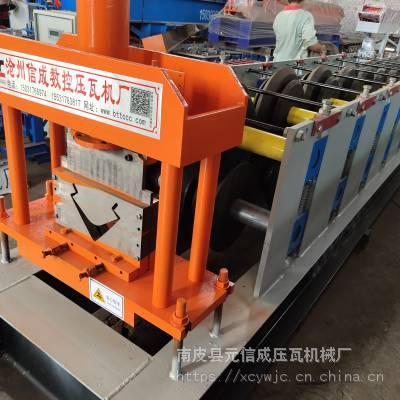 角柱压瓦机械设备 快拼房角柱成型机械设备 彩钢瓦机