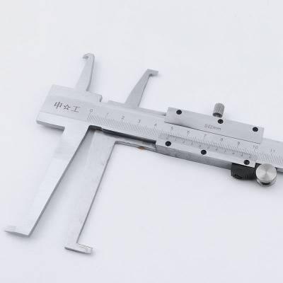 东莞双爪内沟槽游标卡尺批发商浅析内径卡尺的使用
