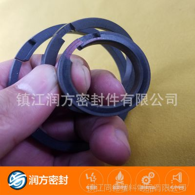 聚四氟乙烯PTFE特氟龙气泵轴封轴套静音无油空压机配件活塞环