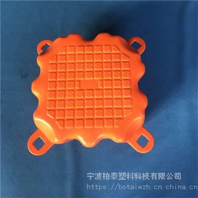 水上钓鱼平台浮筒 方块组合式塑料浮筒工厂价
