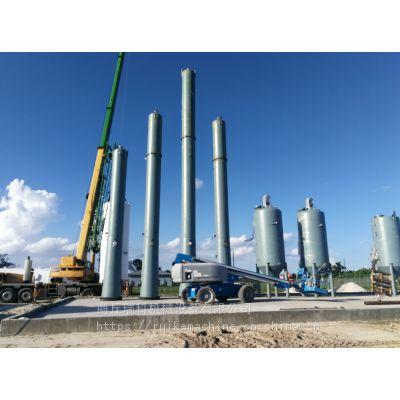 2019新技术24小时连续式废油再处理设备 废机油精炼柴汽油设备真空负压密闭