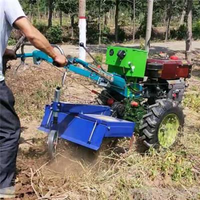 农用18马力手扶车拖拉机 手扶果园开沟机价格 多功能手扶起垄旋耕机厂家
