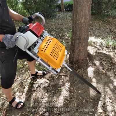 佳民 园林手提式起树机大功率汽油挖树机小型起树机