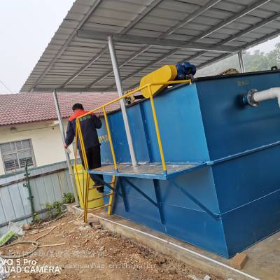 云南养猪场配套污水处理设备安装调试现场及效果,一体化设备、多介质过滤装置、消毒设备气浮装置、-竹源