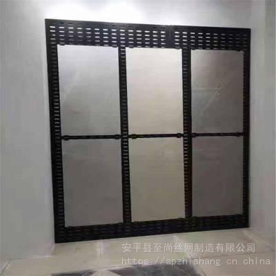 瓷砖展示架 方孔展板斜架子 洞洞板展示架生产厂家