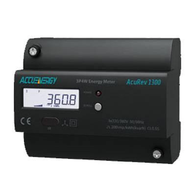 供应爱博精电AcuRev 1300导轨安装式三相电能表