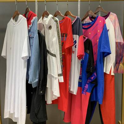江西赣州服装批发市场 广州沙河品牌折扣女装尾货走份 唯众良品