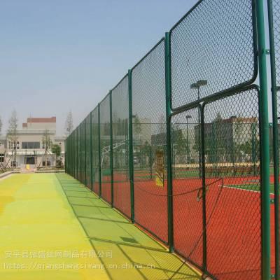 场地施工防护网 学校施工护栏网 球场护栏厂家