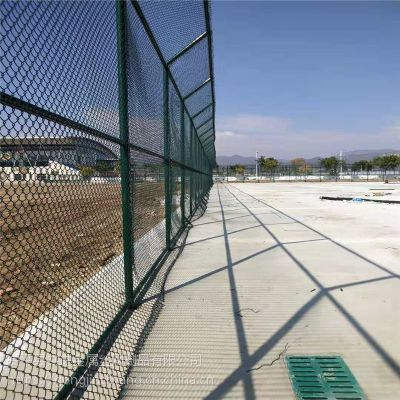安平厂家供应 球场护栏网 体育场防护网 高质量运动场围栏 可加工定做