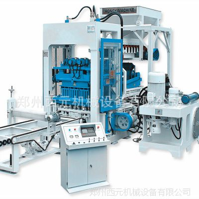 全自动型免烧制砖机 小型水泥砖机 无托板液压制砖机