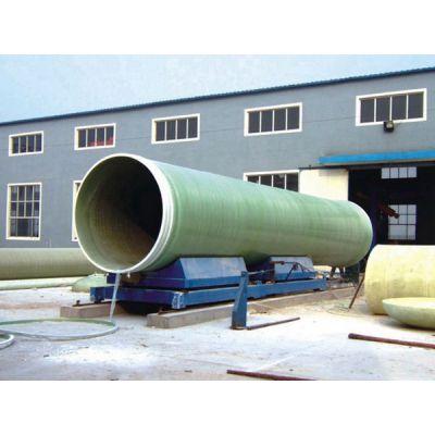 玻璃钢大口径夹砂管 A 广川玻璃钢大口径夹砂管厂家