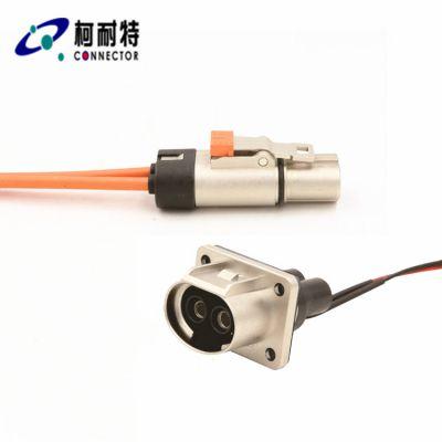 厂家供应新能源纯电动大巴汽车三合一控制器大电流连接器
