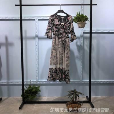 天津大胡同 品牌女装免费加盟 剪标专柜***女装 服装尾货