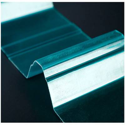 贵州省都匀市聚酯不发黄930波浪型1.0mm大棚采光板 FRP透明瓦大量供应
