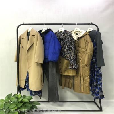 阿莱贝琳[耗牛绒]19秋冬装品牌折扣女装加盟连锁女装原创设计师直播货源