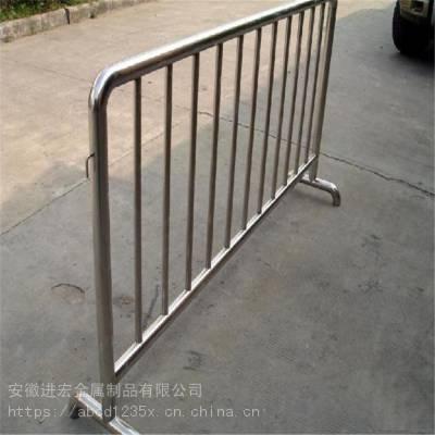 河南厂家直销市政抢险施工专用铁马护栏 活动现场不锈钢可移动围栏