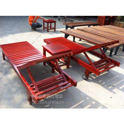 优质实木沙滩椅 外在美:线条流畅,外型优美,色彩流行,搭配时尚