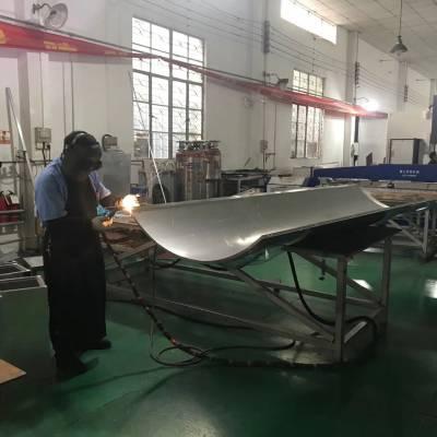 专业定做深灰色铝单板 氟碳烤漆铝板 15mm雕花铝单板