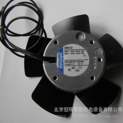 4656EZ德国EBM119 x 119 x 38mm 160m?/h 230V 交流风扇现货