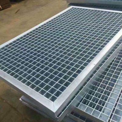 黄山市黄山区重复使用 热镀锌地沟格栅板 钢结构平台踏步板 船用脚踏板 拆装方便
