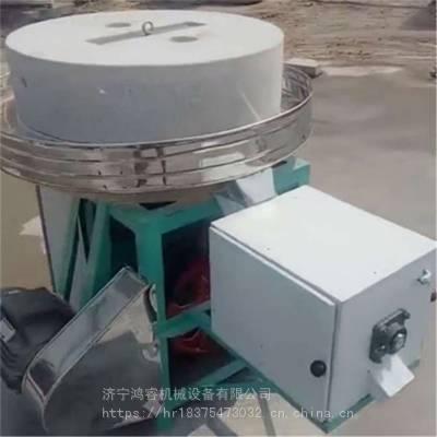 新型石盘式香油石磨 低转速电动磨浆机 砂岩石磨面机厂家报价