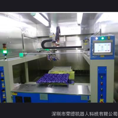 RDROBOT在线往复喷涂设备 卧式往复喷涂机 往返自动喷漆机