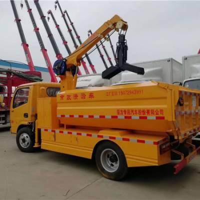 多利卡D6清淤车特点 清淤车可以挖掏下水道多少米3.0L
