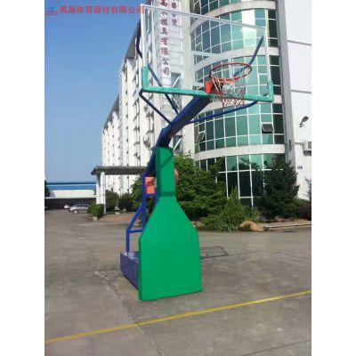 湖南漂亮的篮球架,长沙工厂学校小区里面必不可少的男人运动器材篮球架
