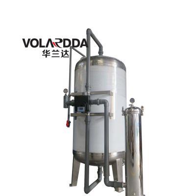 10T/H小型农村饮用水净化过滤器 广西华兰达不锈钢山泉水净水器