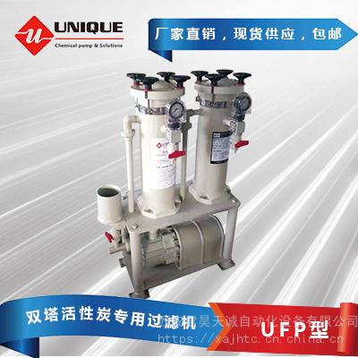 双塔活性炭专用过滤机UFP型