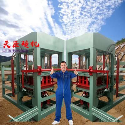 砖机设备-天匠大中小型制砖机-空心砖机设备