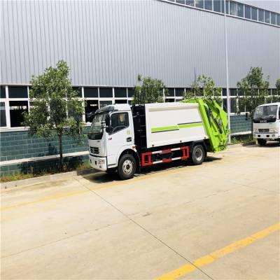 环卫站5吨垃圾中转车 移动式终端处理厂用压缩式垃圾车-6方环卫生产厂家