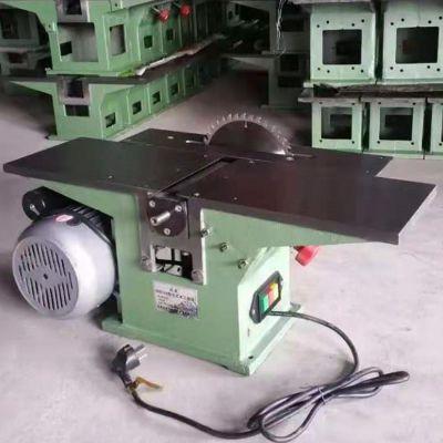 200型木工台刨三合一 多功能台式刨床 小型电刨台锯电钻