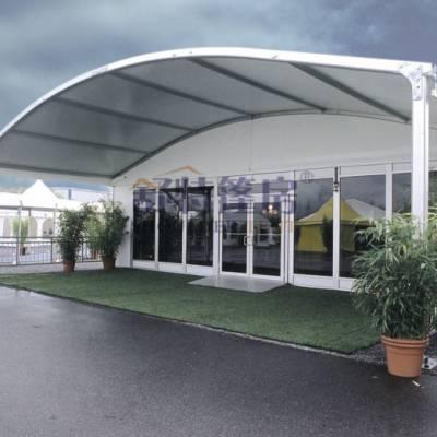 弧形篷房 专业订制化生产 可租可售 厂家直销