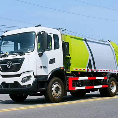 压缩式对接垃圾车 压缩垃圾车售价多少压缩垃圾车后装式结构