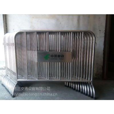深圳活动不锈钢围栏网 不锈钢铁马 展览会地铁专用