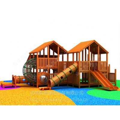原生态树屋滑梯,木质组合滑梯,户外公园攀爬架,体能闯关训练,儿童游乐设施,厂家直销定做
