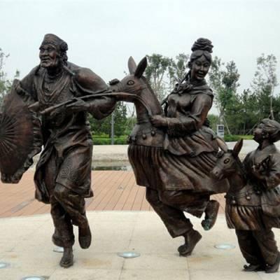 济南京文雕塑支持定制-大型玻璃钢浮雕定制