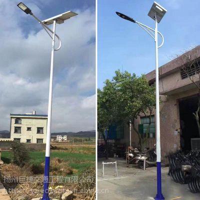 新农村太阳能路灯厂家_常规爆款6米30瓦_配送到村_包安装指导