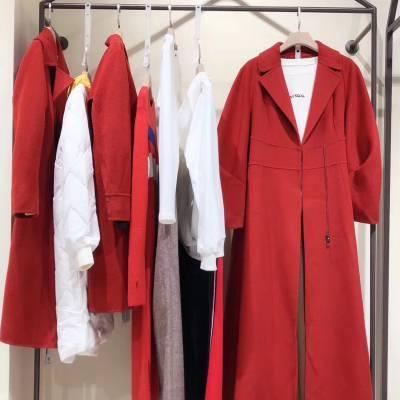 杭州知名品牌哈祥喜19冬女装尾货 工厂一手货源 广州品牌折扣女装