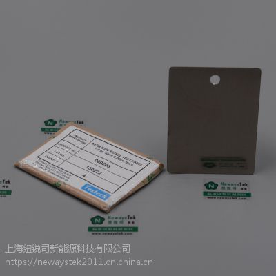 供应ASTM B368镍板参比试样质量损失片