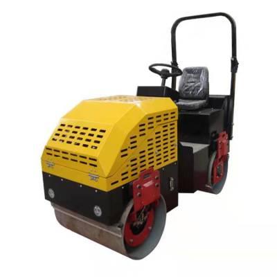 单钢轮压路机 回填土压实机 小型号手扶压路机 山东卡洛特