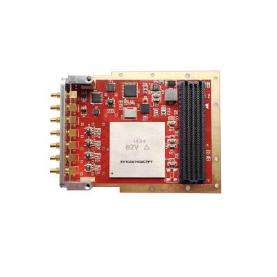 高速数据采集卡QT7130 10bit ,1.25/2.5/5GS/s,1/2/4通道, 高信噪比,