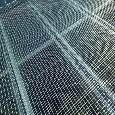 踏步平台钢格板 异型钢格栅板 排水沟盖板